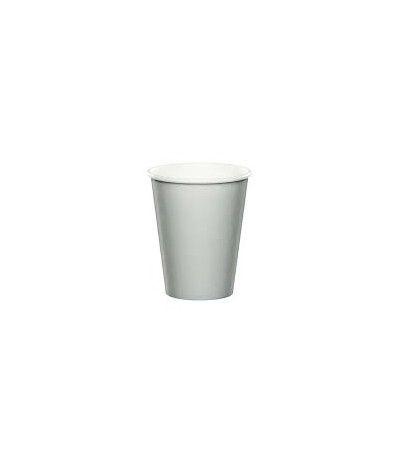 bicchieri carta argento- 8 pezzi