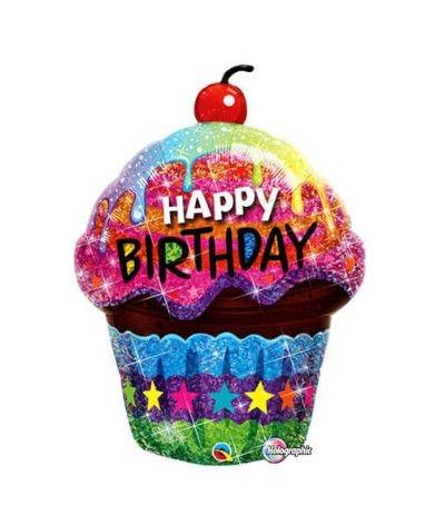 palloncino mylar cupcake 89 cm