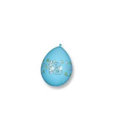 palloncini 1° compl azzurri- 16 pezzi