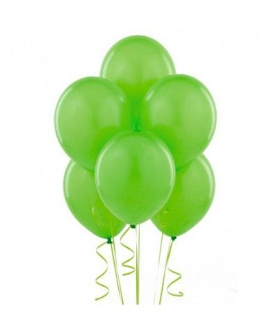 palloncini lattice verde lime- 25 pezzi