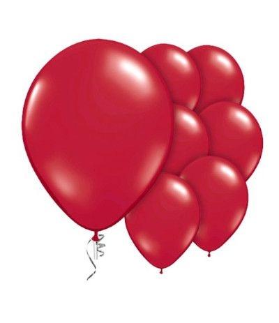 palloncino lattice rosso 25pz