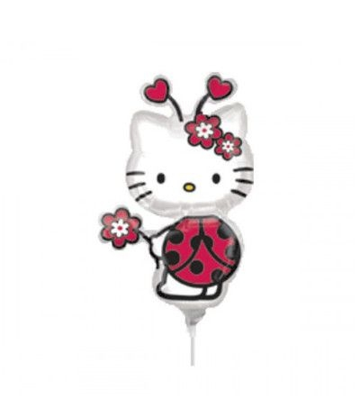 palloncino mylar mini shape hello kitty