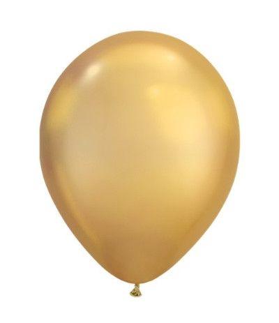 palloncini lattice 10'' oro- 25 pezzi