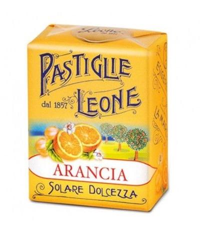 pastiglie leone arancia- 30 gr