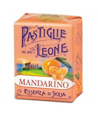 pastiglie leone mandarino- 30 gr
