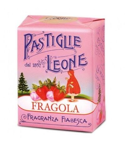 pastiglie leone fragola- 30 gr