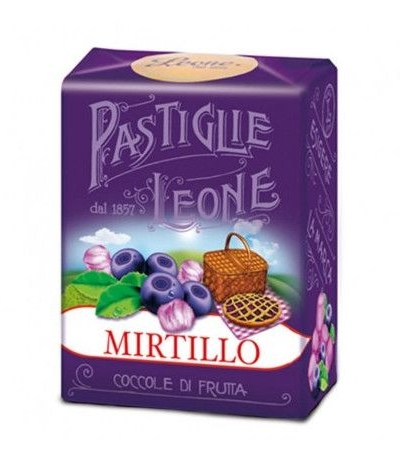 pastiglie leone mirtillo- 30 gr