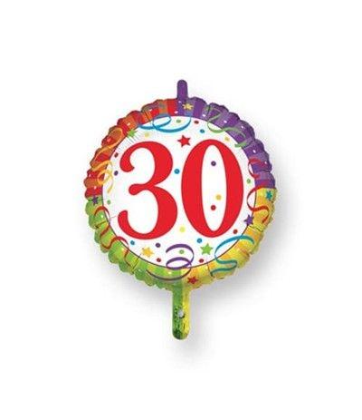 palloncino  30 anni 45cm