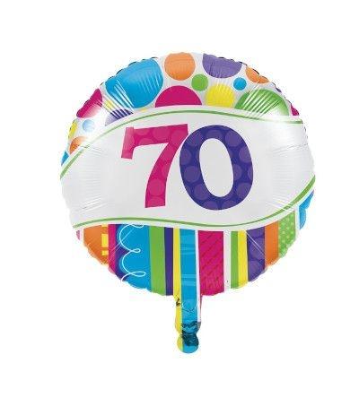 palloncino 70 anni- 45 cm
