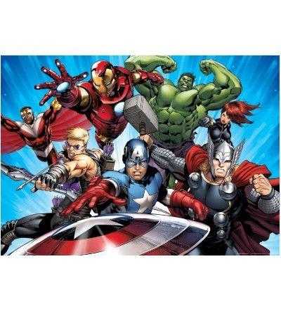Ostia A4- Avengers 20 x 30 cm