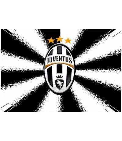 Cialda in pasta di zucchero A3- Juventus 30 x 40 cm