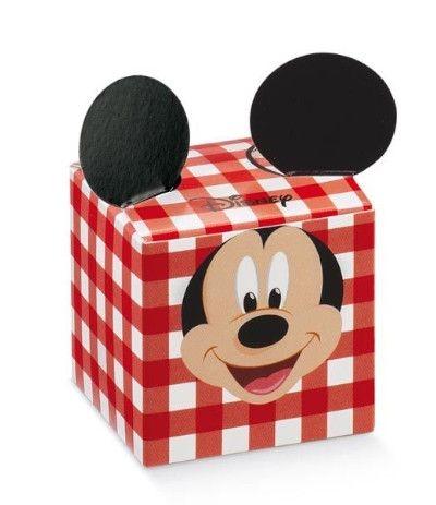 20 scatoline topolino rosso