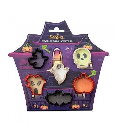 kit 6 mini tagliapasta halloween