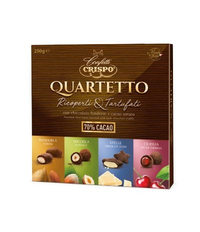 cioccolatini quartetto Crispo 250 gr