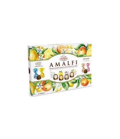 amalfi confezione cioccolatini crispo- 400 gr