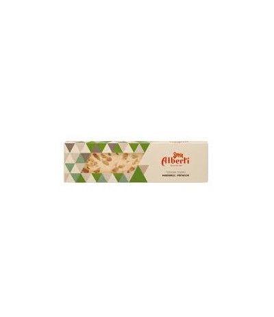 torrone mandorle e pistacchio-150gr