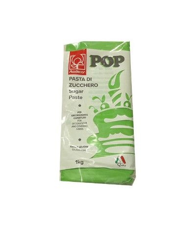 pasta di zucchero modecor 1 kg verde