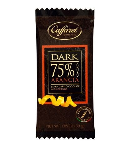 mini barretta caffarel dark 75%- 30gr