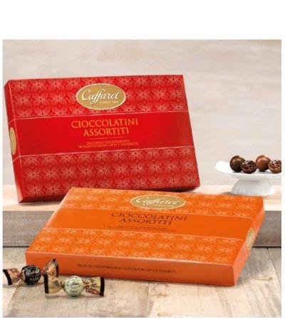 scatola cioccolatini caffarel
