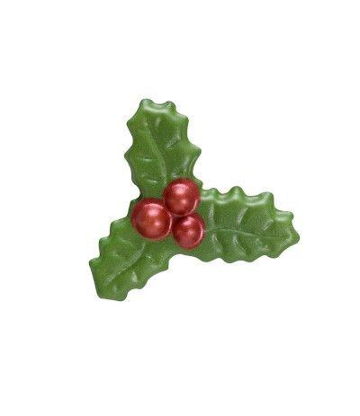 agrifoglio di cioccolato- 4 x 4,3 cm
