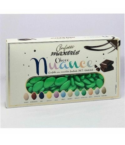 confetti maxtris smeraldo cioccolato- 1 kg