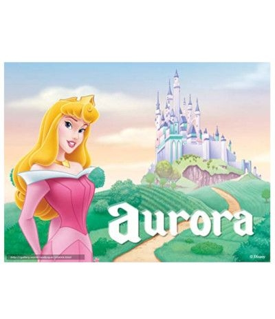 Cialda in pasta di zucchero A4- Aurora- 20 x 30 cm