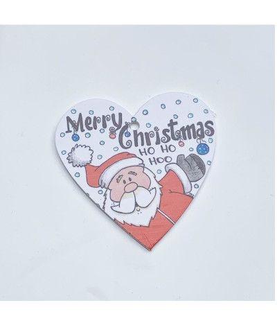 cuoricino Legno merry christmas