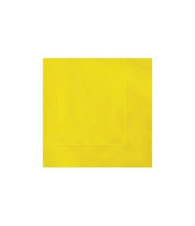 tovagliolini gialli- 20 pezzi