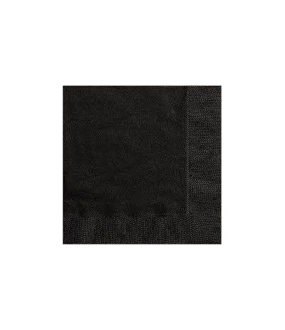tovagliolini neri- 20 pezzi