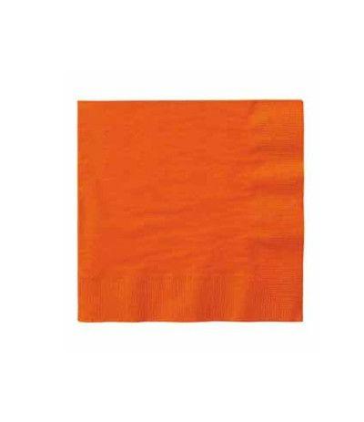 tovagliolini arancio- 20 pezzi