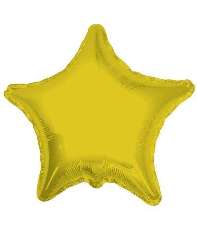 palloncino mylar stella oro- cm 46