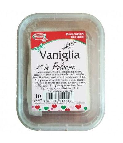 vaniglia in polvere- 10 gr