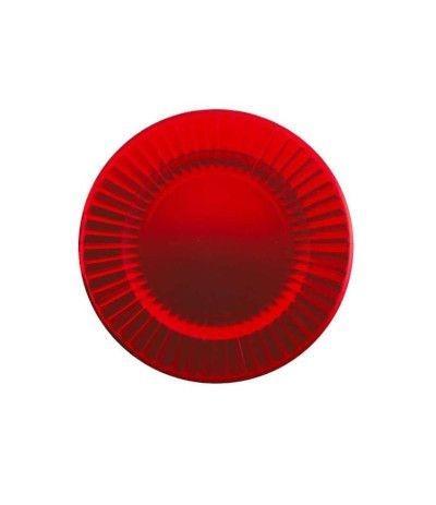 Sottopiatti rossi in carta- 33 cm