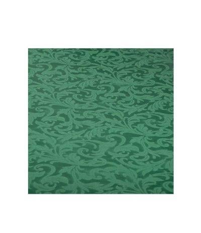tovaglia verde damascata- 140 x 240 cm