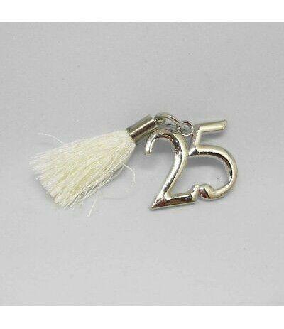 ciondolo 25 argento- 2 cm