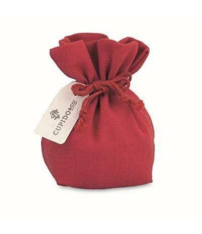 saccoccio rosso cotone- 12 cm