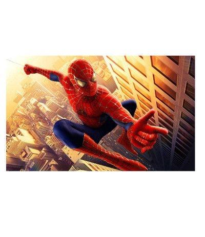 Cialda in pasta di zucchero A3- Spiderman 30 x 40 cm