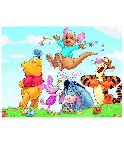 Cialda in pasta di zucchero A4- Winnie The Pooh 20 x 30 cm