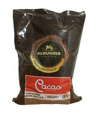 cacao amaro perugina- 1kg