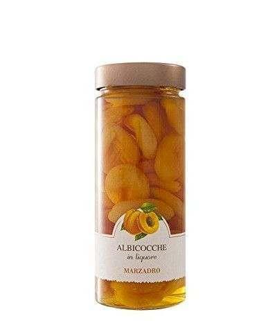 albicocche in liquore marzadro- 650 gr