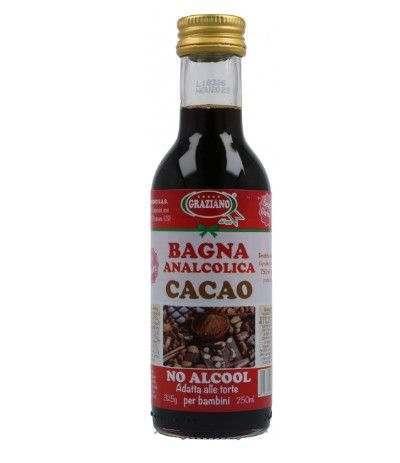 bagna analcolica graziano cacao- 250 ml