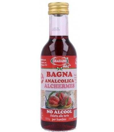 bagna analcolica graziano alchermes- 250 ml