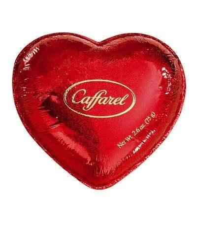 cuore di cioccolato san valentino caffarel- 75 gr