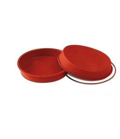 stampo in silicone round pan- 180 x 40 mm