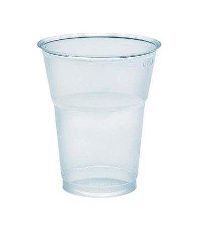 bicchieri trasparenti dopla- 300 cc