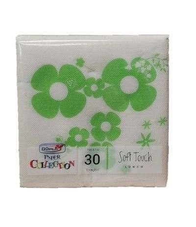 tovaglioli floreal verde- 30 pezzi
