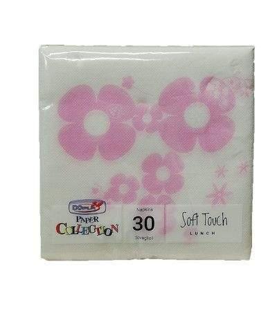 tovaglioli floreal rosa- 30 pezzi