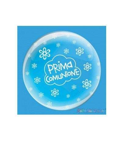 palloncino bubble prima comunione- 61 cm