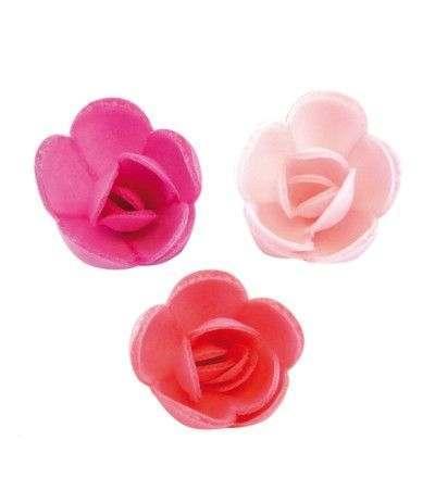 mini rosa ostia fucsia- 3 cm