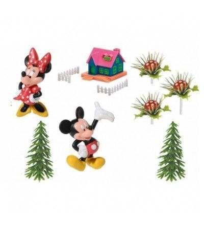 kit di topolino con casetta- 9 pezzi